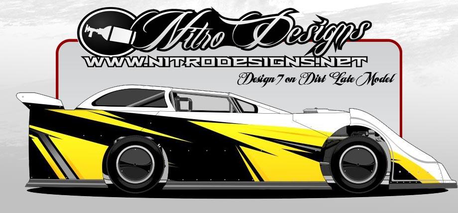 Nitro Designs Wrap Kit 007 Nitro Designs