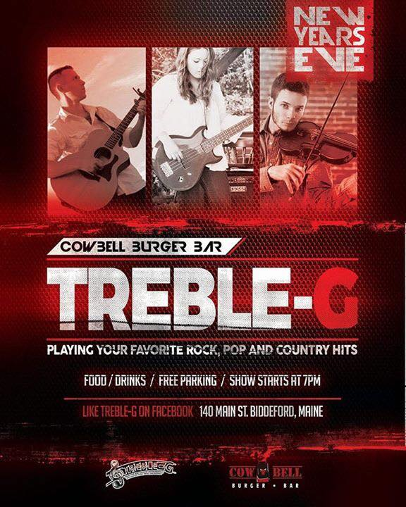 Treble-G Event Poster