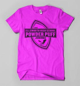 Ellsworth Powderpuff Game Shirt Design