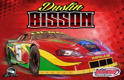 Dustin Bisson Racing Hero/Autograph Cards