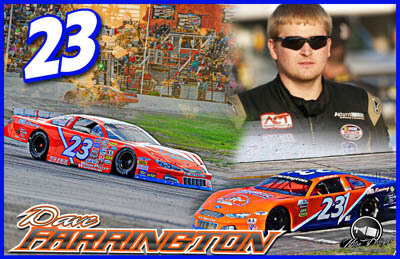 Dave Farrington Racing Hero/Autograph Cards.