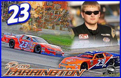 Dave Farrington Racing Hero/Autograph Cards.