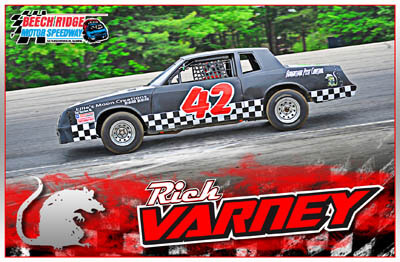Rick Varney Racing Hero/Autograph Cards