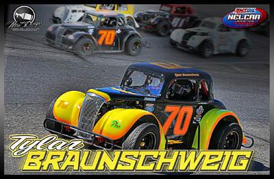 Tylar Braunschweig Racing Hero/Autograph Cards