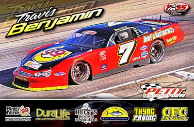 Travis Benjamin PASS North Series Racing Hero/Autograph Cards