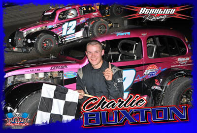 Charlie Buxton Racing Hero/Autograph Cards