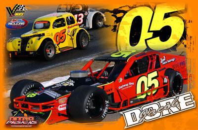 Jacob Dore Racing Hero/Autograph Cards.