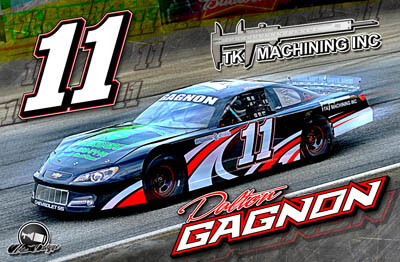Dalton Gagnon Racing Hero/Autograph Cards