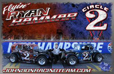 Ryan Hammar Legends Car Racing Hero/Autograph Cards