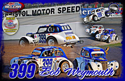 Boby Weymouth Legends Car Racing Hero/Autograph Cards