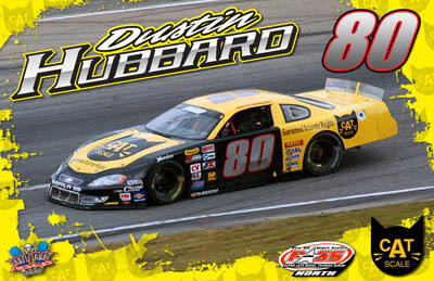 Dustin Hubbard Racing Hero/Autograph Cards