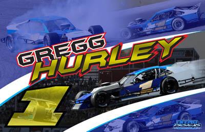 Greg Hurley Modified Racing Hero/Autograph Cards
