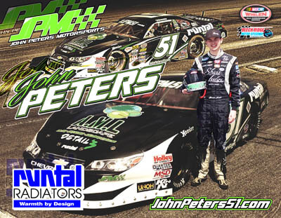 John Peters Racing Hero/Autograph Cards