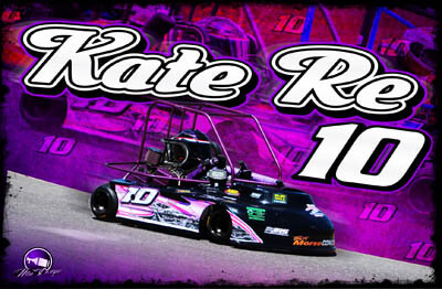Kate Re Racing Hero/Autograph Cards