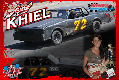 Amy Khiel Racing Hero/Autograph Cards