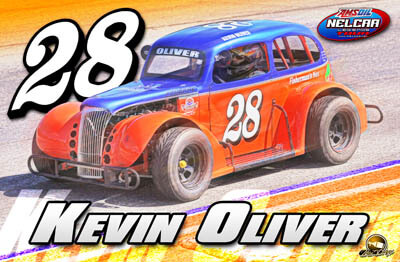 Kevin Oliver Racing Hero/Autograph Cards.