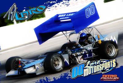 TJ Laro Racing Hero/Autograph Cards