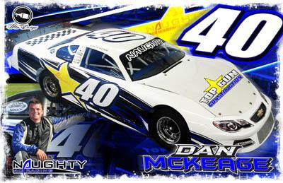 Dan McKeage Racing Hero/Autograph Cards