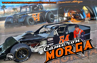 Cameron Morga Racing Hero/Autograph Cards