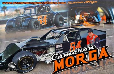 Cameron Morga Racing Hero/Autograph Cards