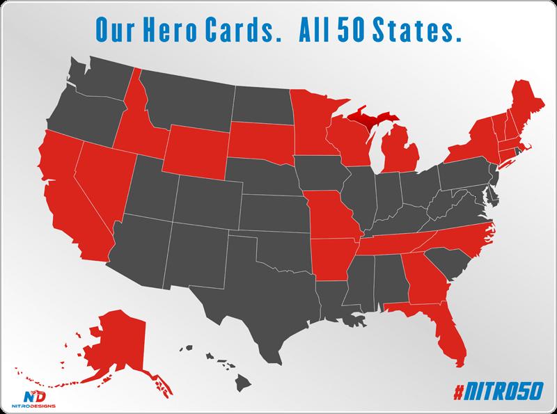 Nitro50 Hero Card Discount