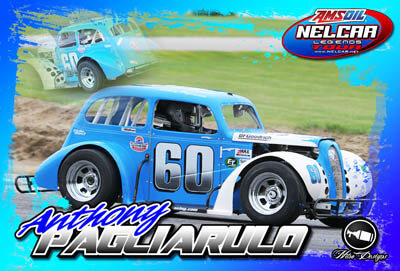 Anthony Pagliarulo Racing Hero/Autograph Cards
