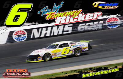 Tommy Ricker Racing Hero/Autograph Cards