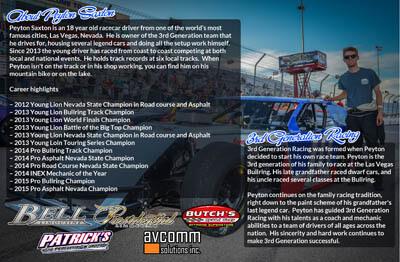 Peyton Saxton Racing Hero/Autograph Cards
