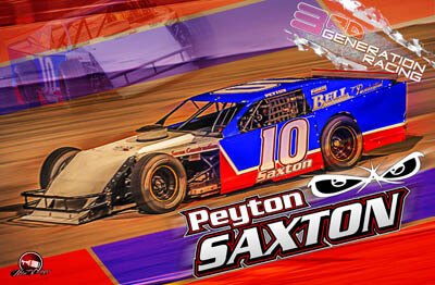 Peyton Saxton Racing Hero/Autograph Cards