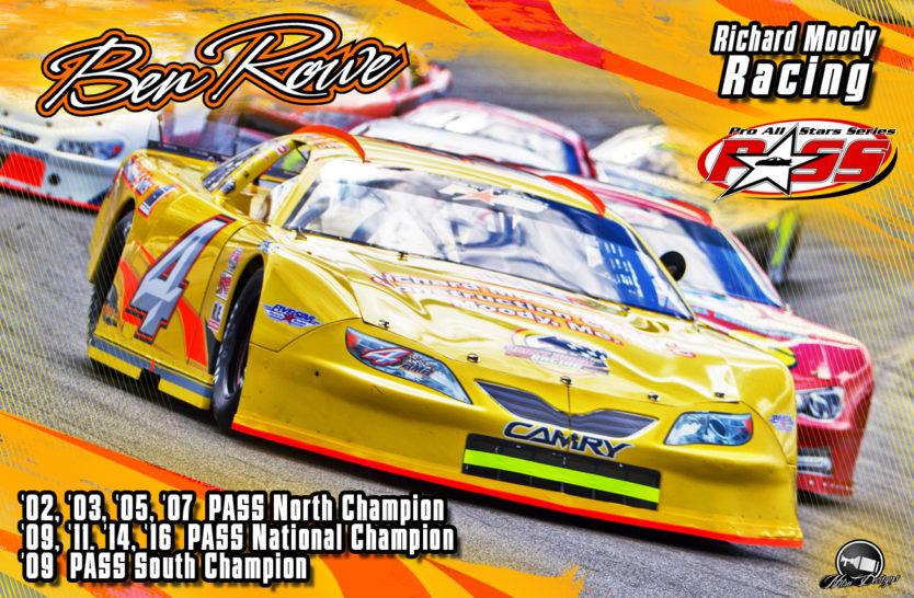 Ben Rowe, PASS Racing Legend, Hero Cards