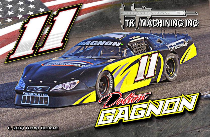 Dalton Gagnon Racing Hero Cards