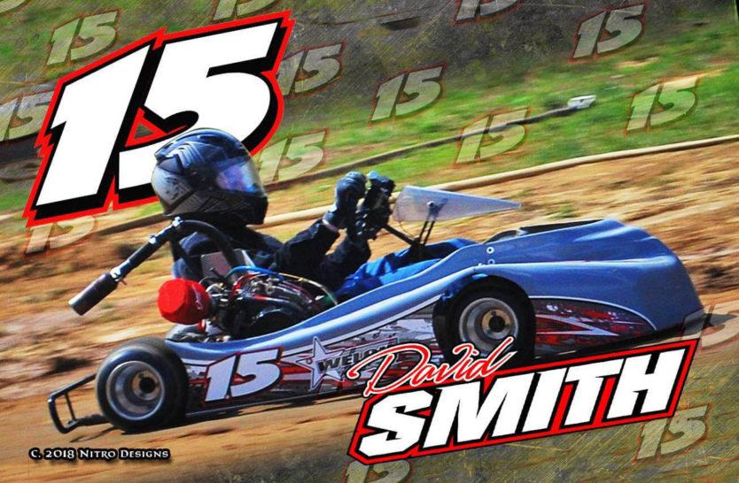 David Smith Karting Hero Cards