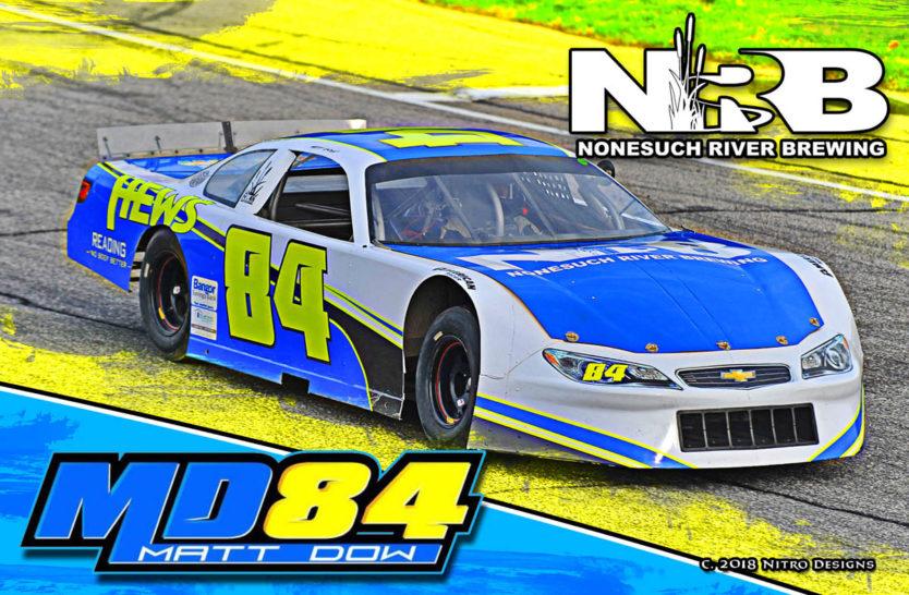 Matt Dow Sportsman Racing Hero Cards