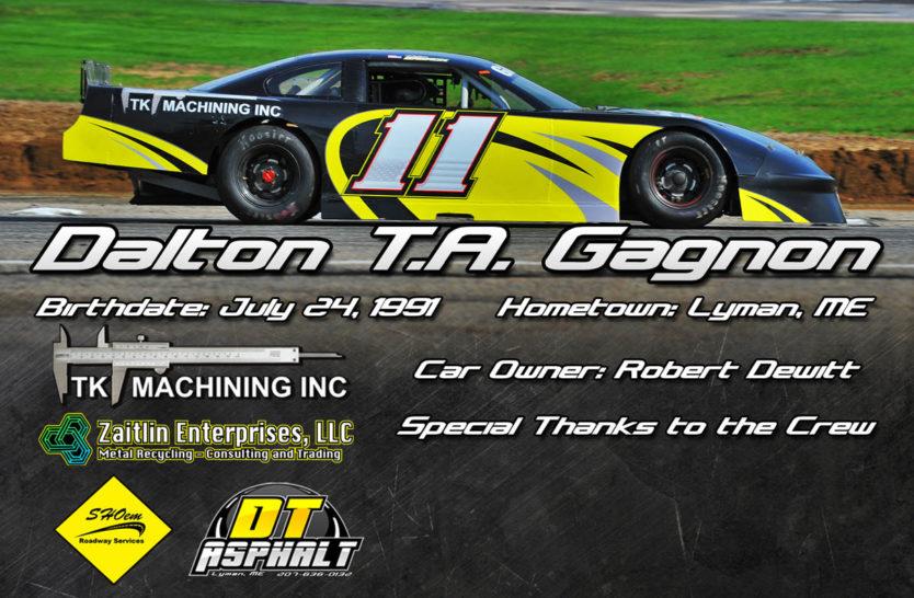 Dalton Gagnon Hero Cards Back
