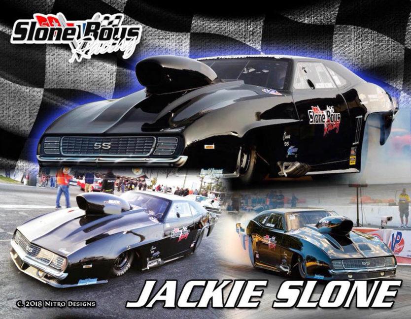 Jackie Slone Drag Racing Hero Cards