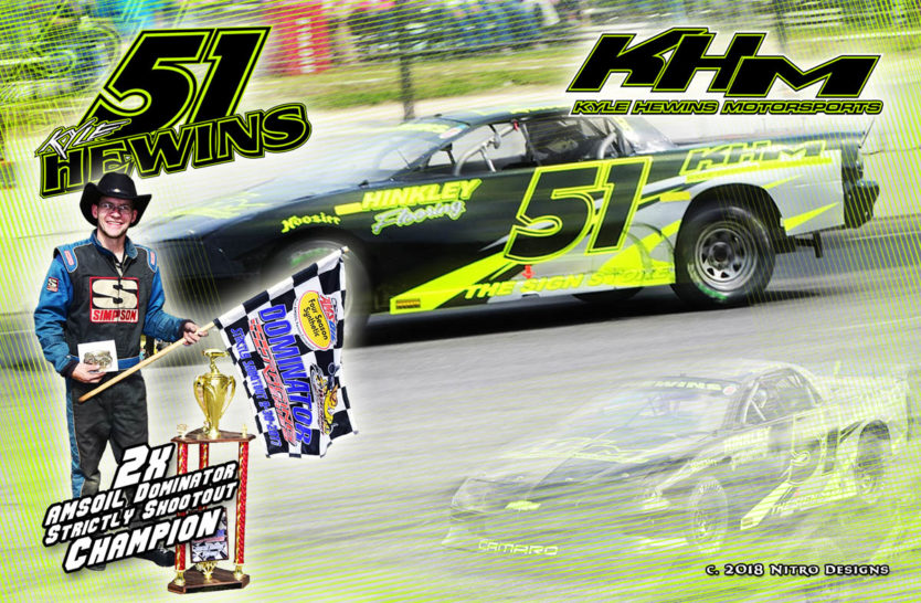 Kyle Hewins Strictly Stock Hero Cards