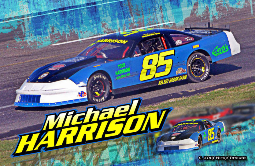 Michael Harrison Sportsman Hero Cards