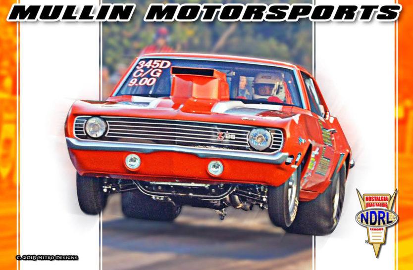 Mullin Motorsports Drag Racing Hero Cards