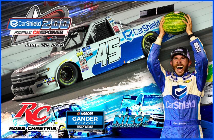 Ross Chastain NASCAR Truck Series Hero Cards